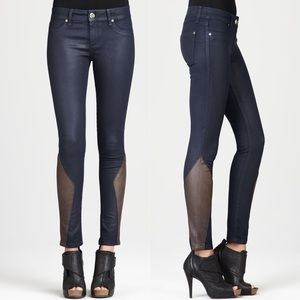 DL1961 Emma Cocktail Leather Riding Pants Jeans 26